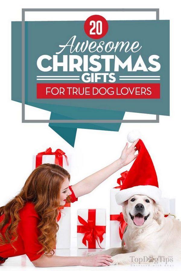 20 Cadeaux de Noël géniaux pour les amoureux des chiens
