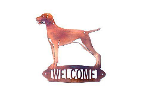 Signe de bienvenue chien personnalisé