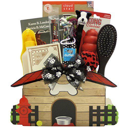 Paniers-cadeaux GreatArrivals Félicitations pour votre nouveau panier-cadeau Pooch Pet Dog