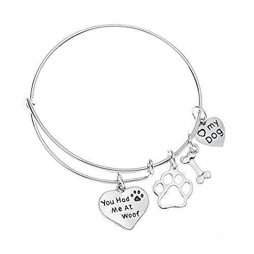 Bracelet à breloques Infinity Collection pour chien