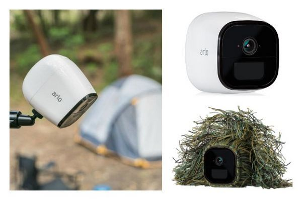 Les capacités sans fil d`Arlo go vous permettent de surveiller vos animaux partout, à l`intérieur et à l`extérieur