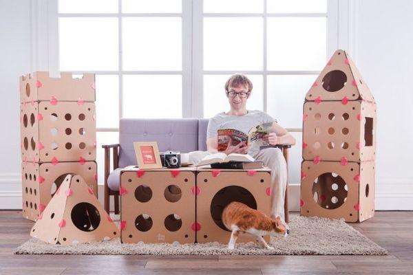 Box Kitty veut que votre chat se sente comme un roi