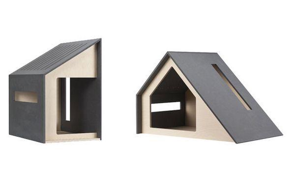 Construire une niche à chiens est un jeu d'enfants grâce à l'élégance des demeures élégantes de bad marlon