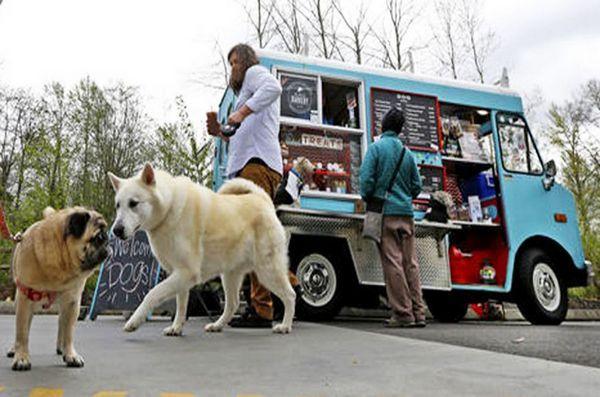 Des gourmands gourmands donnent à Seattle un camion de nourriture