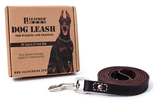 Tirage: laisse de chien en cuirberg de 6 pieds (valeur de 35 $)