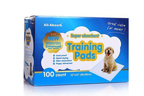 Révision: tous les tampons pipi de chiot absorbent