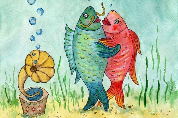 Restez à l'écoute des talents de l'aquarium