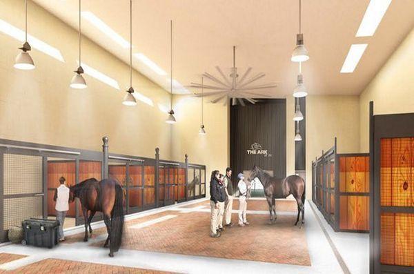 L'arche: le terminal massif de Jkf, réservé aux animaux, ouvrira en 2016