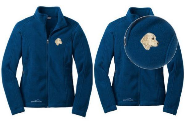 Montrez la fierté de race avec ces vestes brodées molletonnées confortables!