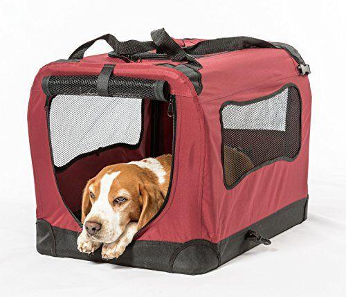 Caisse de chien pliable 2PET