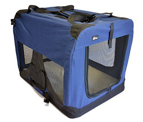Toppets Portable Pet Carrier ou Crate ou Kennel pour chien