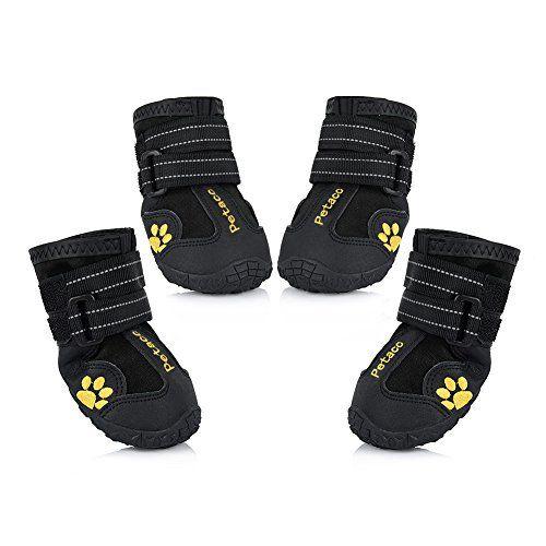 Petacc Dog Boots - Chaussures résistantes à l`eau pour chiens de grande taille