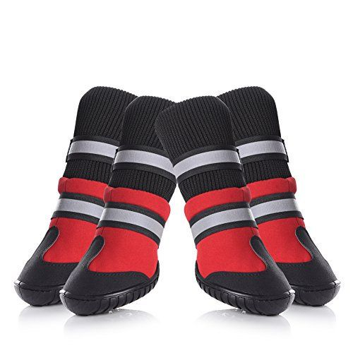 Petacc Dog Shoes Bottes de chien imperméables