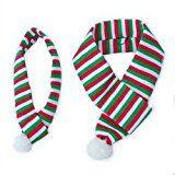 Écharpe rouge-blanc-vert de vacances de ZippyPaws