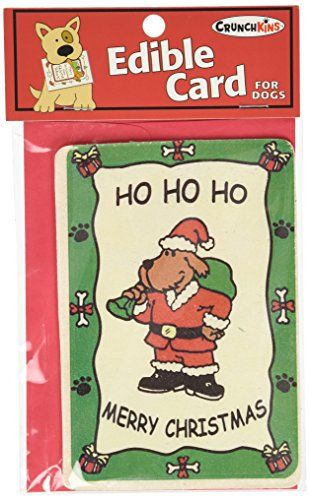 Carte comestible Crunchkins Crunch, Ho, Ho, Ho, Joyeux Noël