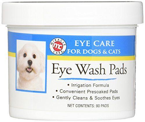 Tampons de lavage pour les yeux stériles Miracle Care