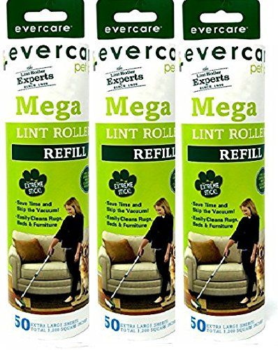 Recharge Evercare Pet Mega Roller 50 couches