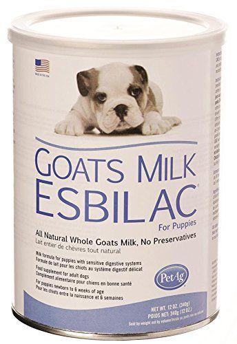 PetAg Poudre de lait de chèvre Esbilac (GME) pour chiots