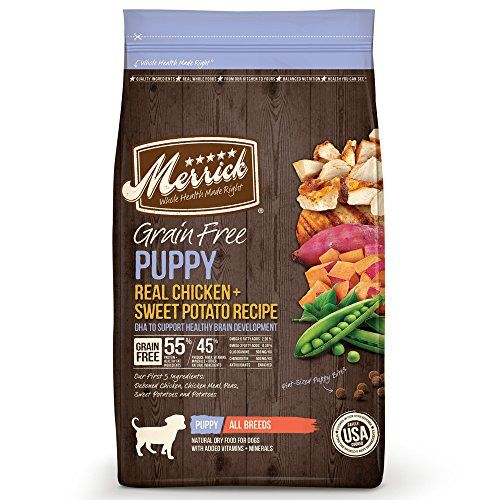 Merrick Grain Free Recipe Recette de nourriture sèche