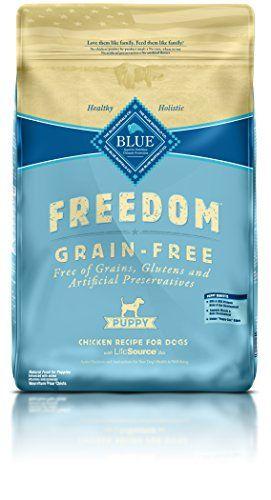 Nourriture pour chiots secs sans grains Blue Buffalo Freedom