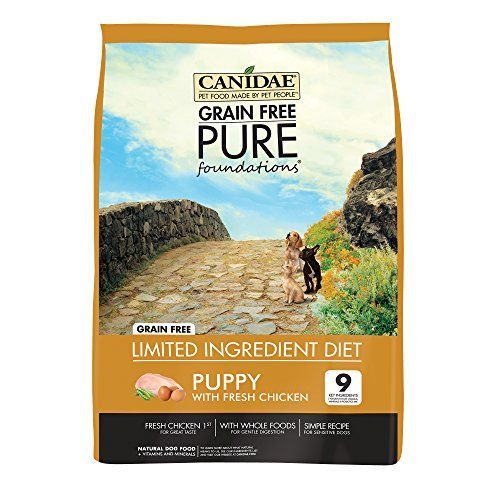 Nourriture sèche pour chiens Canidee sans grains PURE
