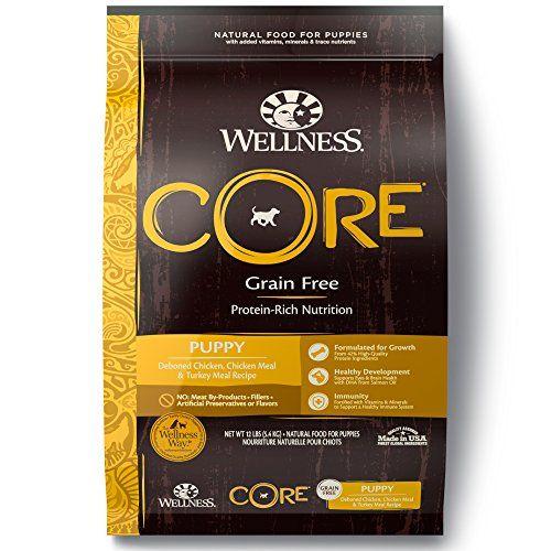 Aliments pour chiens secs sans grains naturels Wellness Core