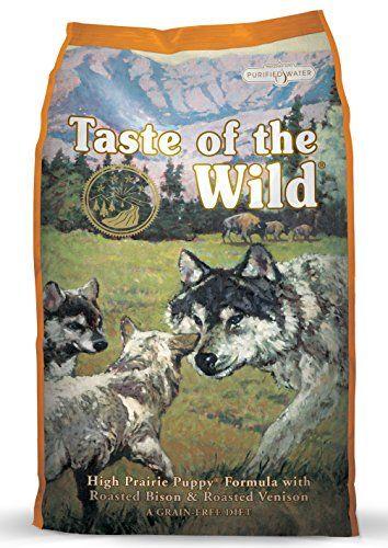 Nourriture sèche sans grains pour chiot par Taste of the Wild