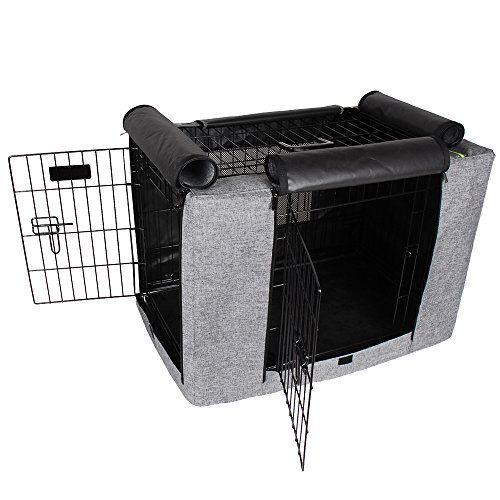 Couverture de caisse de polyester de Petsfit pour des caisses de fil
